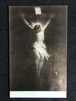 Vintage Postcard - Religious #26 - Christ On The Cross