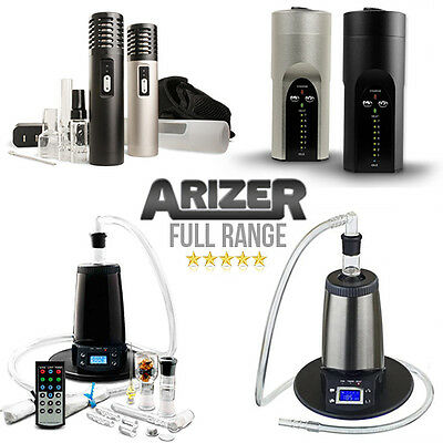 Full Range of Arizer Vaporizers ☆ Solo ☆ Air ☆ Extreme Q ☆ V Tower ☆ 2017 Models