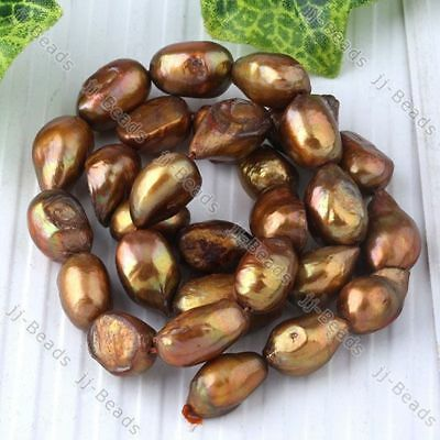 8-9mm Cultured Freshwater Pearl Nugget Jewelry Beads
