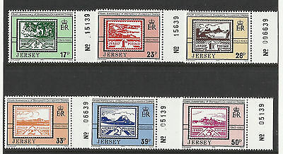 Jersey - 50th Anniv of Edmund Blampied's Occupation Stamps - Set - 1993 - MNH