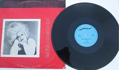 "Divine - Shoot Your Shot - 12"" Ltd Editon  Single"