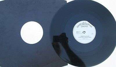 "Samantha Gilles - Let Me Feel It  - 12"" Ltd Editon  Single"