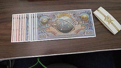 Loot Crate Firefly Money Stack Bank Robbery Prop Replica Lootcrate NEW Serenity