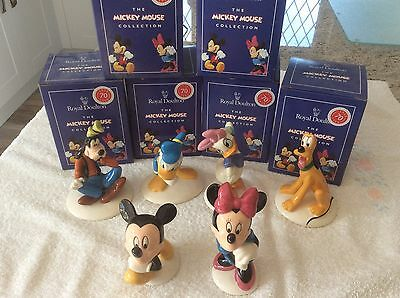 Royal Doulton Mickey Mouse 70th Aniversary Collection