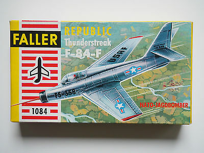 FALLER 1:100 Art. Nr.: 1084 Republic Thunderstreak F-84-F Modellbausatz