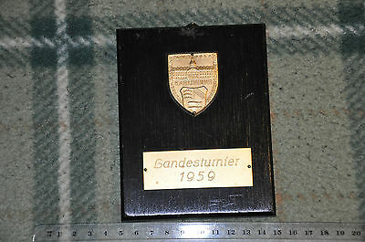Alte angler medaille (23) angling medal fishing