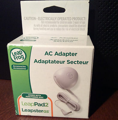 LeapPad AC Adapter for LeapPad 2 & LeapsterGS - Free Shipping