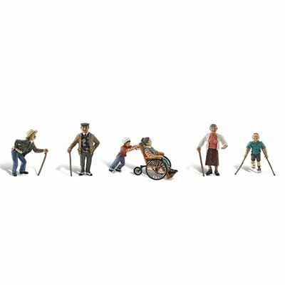 Physically Challenged (OO/HO figures) Woodland Scenics A1946 free post