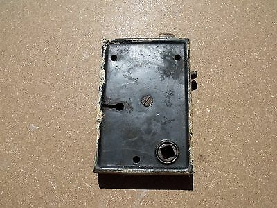 "Vintage Hardware Surface Mount Lock Use Repair Parts 4 5/16 x 2 7/8"" x 11/16"""