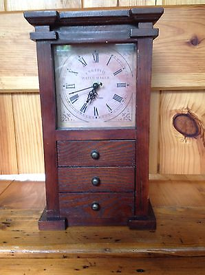 Small Grandfather Clock With Draws