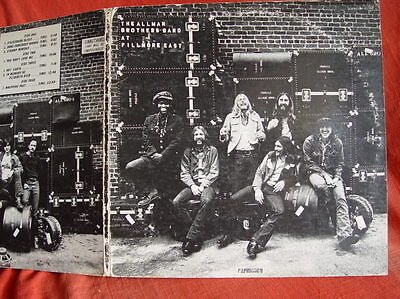 The Allman Brothers Band –  at FILLMORE EAST  - 2 LP - USA