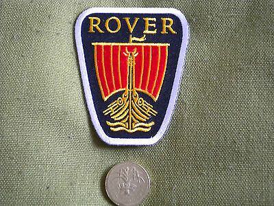 75mm ROVER LOGO MOTORING EMBROIDERED PATCH
