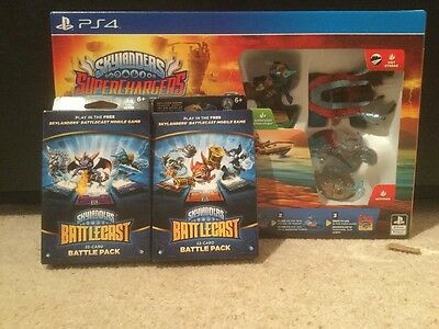 Skylanders Superchargers: Starter Pack (PS4) BRAND NEW SEALED BF SALE IN STOCK
