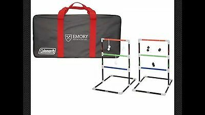COLEMAN Ladder Ball Outdoor Game in carrying case NEW