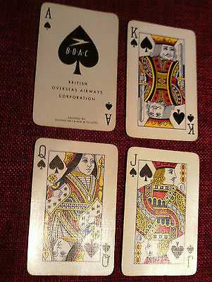 BOAC Promotional playing cards.1950s