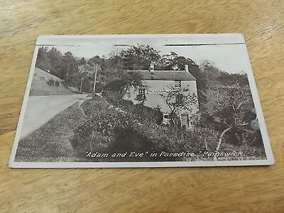 old postcard 1953. 'Adam and Eve' Painswick, Stroud, Gloucestershire. used