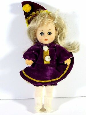 "Ginny Vogue Doll 8"" In Purple Outfit"