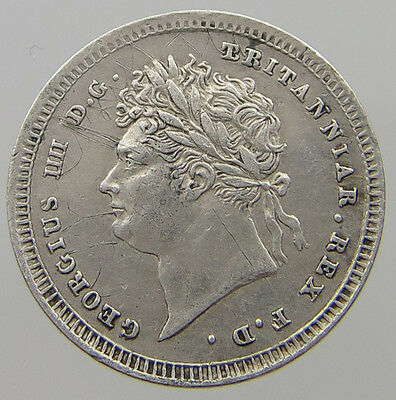 Great Britain 2 Pence 1825  #t7 537