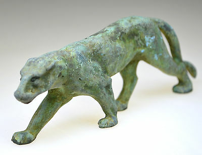 Large Roman Bronze Figurine of Tiger