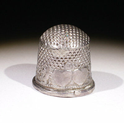 Loveley Post Medieval Silver Thimble  - Circa 17Th Century Ad  - No Reserve!!