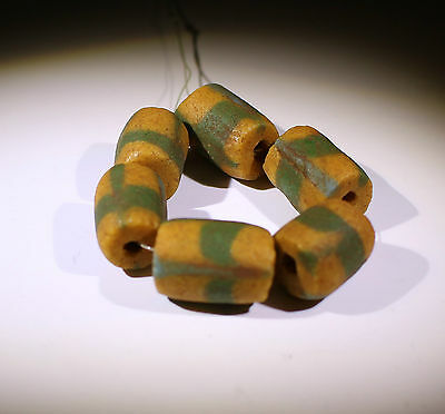 Large Ancient Glass Beads Circa  200Ad - No Reserve!!!!!!