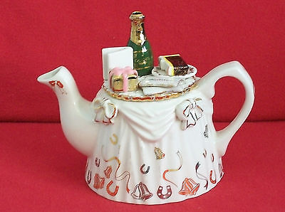 **stunning Rare Cardew Anniversary Victorian Tea Table Teapot** **ex Condition**