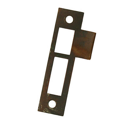 "Antique Strike Plates for Mortise Locks, 5/32"" Spacing, NSTP60"