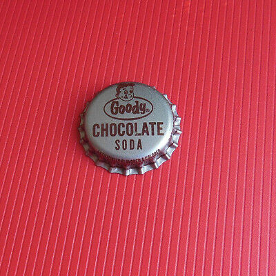 GOODY Chocolate Soda  CORK-LINED bottle cap Indianapolis, Ind