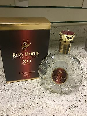 Remy Martin XO Fine Champagne Empty Cognac Bottle And Box Excellent Condition