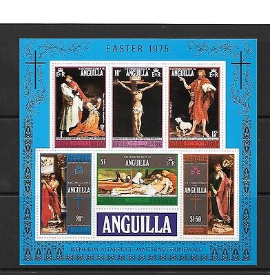 Anguilla Sgms208 1975 Easter Mnh