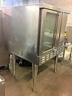 Imperial Icv-1 Convection Oven Single Deck Standard Depth - Gas