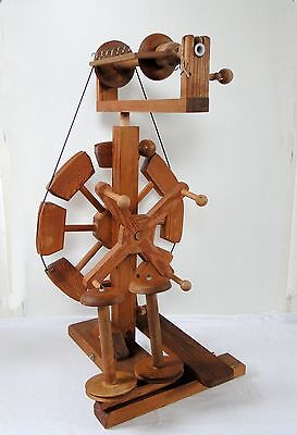 Rare Dutch Moswolt Hammer Spinning Wheel Foldable