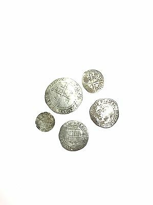 Hammered Coins 11mm-25mm