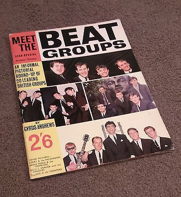 MEET STAR SPECIAL - Beat Groups (1964) - Rolling Stones Beatles Searchers