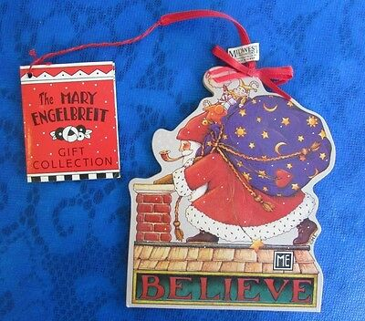 MARY ENGELBREIT Santa Clause Ornament or Gift Tag Midwest
