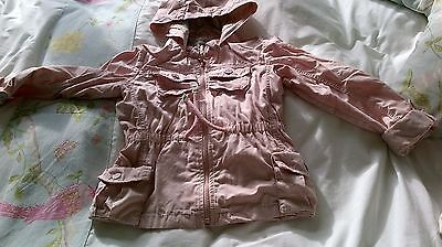 Next Pink Jacket Aged 4-5 Years