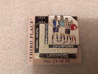 1893/94 Notts County F.C. Top Four Finishers Badge
