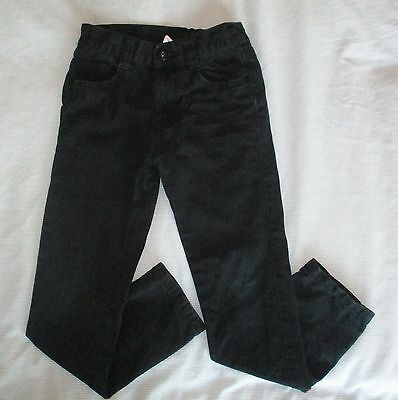 Boys black jeans 7-8 years