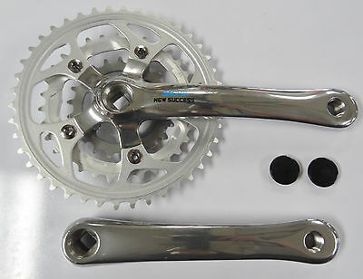 Sachs New Success Crankset 42-32-22 for Mountain Bike Replaceable Chainrings
