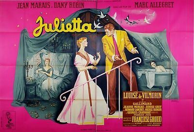 Julietta Marc Allegret Dany Robin Jean Marais Movie Poster