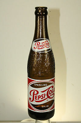 Savannah Ga Amber Pepsi Cola Bottle 12 Oz Acl