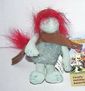 Fraggle Rock BOOBER CHARACTER PLUSH SOFT TOY KEY RING CLIP with Tag - Jim Henson