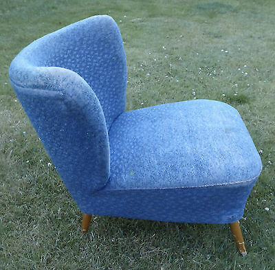 Vintage 50s 60s era Mid Century Cocktail Chair