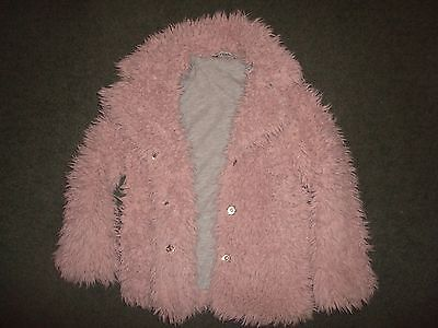 GEORGE fluffy kids jacket Size 5-6 years height 110-116cm