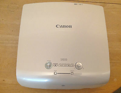 Canon SX800 LCD Data Projector