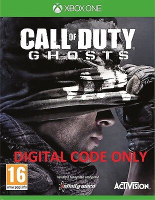 CALL OF DUTY: GHOST XBOX ONE Full Game Digital Download (EU et UK) Region Free
