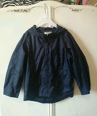 M&S girl jacket - size 5/6 years