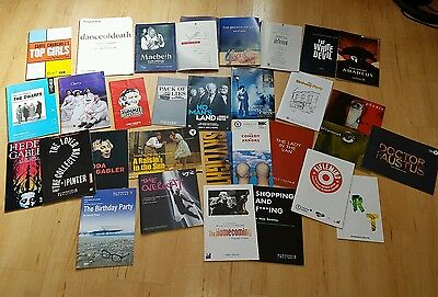 Collection of Old and Young Vic Programs to choose from the past 20 years.
