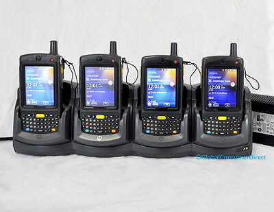 LOT OF 4x Motorola MC75 MC7598-PUFSKQWA9WR 1D WM6.1 VERIZON Barcode Scanner