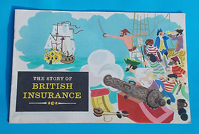 1960s VINTAGE - STORY OF BRITISH INSURANCE - BOOKLET